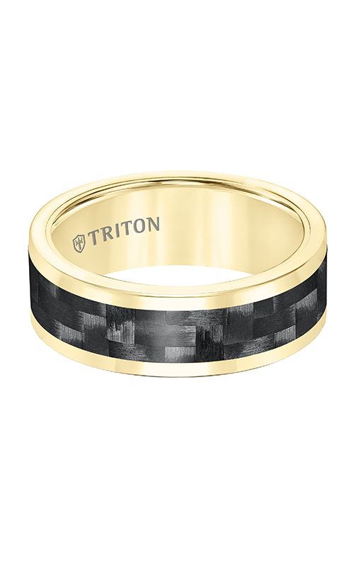 Triton Tungsten Carbide Wedding Band 11-5810YC-G product image