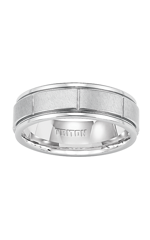 Triton Engraved Wedding Band 11-2229BC-G product image