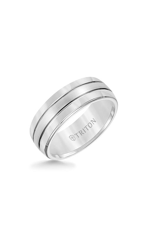 Triton Tungsten Air Wedding Band 11-2926HC-G product image