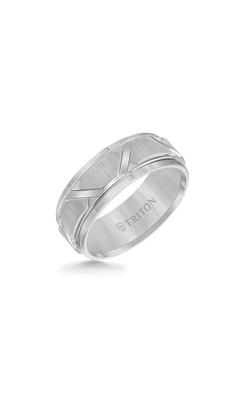 Triton Engraved Wedding Band 11-4126C-G product image