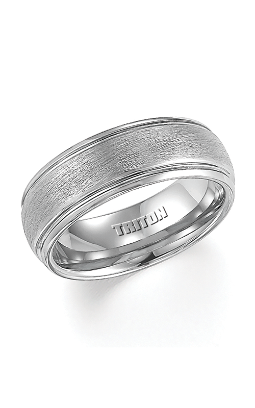 Triton Engraved Wedding Band 11-4129C-G product image