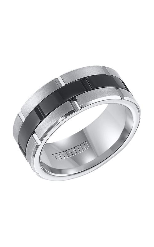 Triton Engraved Wedding Band 11-4321MC-G product image