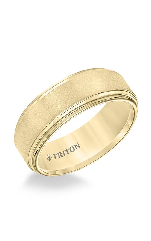 Triton Engraved Wedding Band 11-5732YC-G product image
