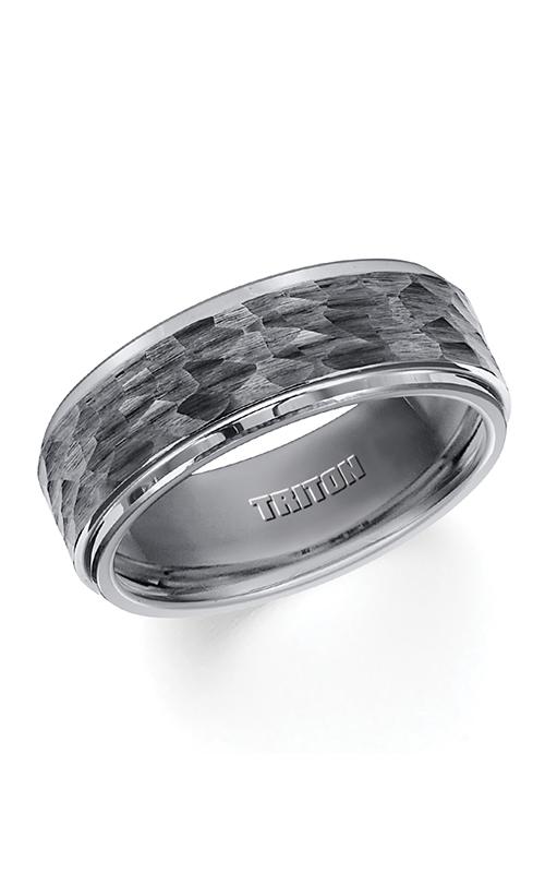 Triton Engraved Wedding Band 11-3288BC-G product image