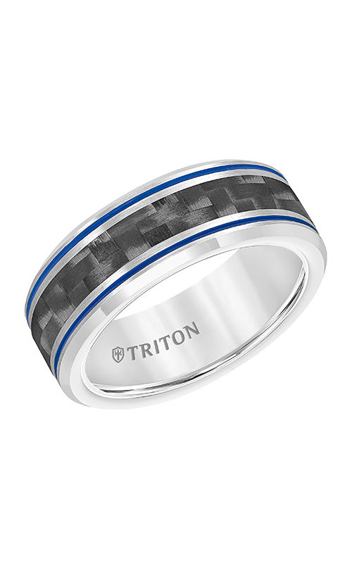 Triton Engraved Wedding Band 11-5934CBL8-G product image