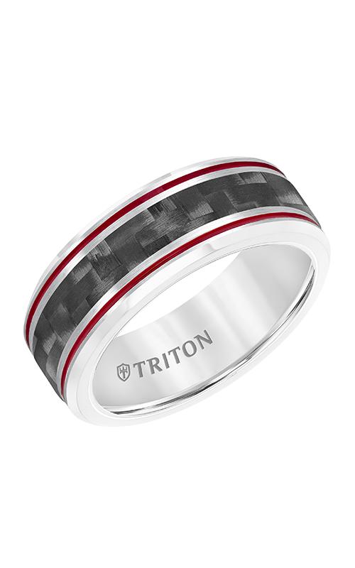 Triton Tungsten Air Wedding Band 11-5934CRD8-G product image