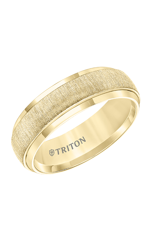 Triton Engraved Wedding Band 11-5939YC7-G product image