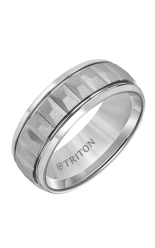 Triton Engraved Wedding Band 11-5940C8-G product image