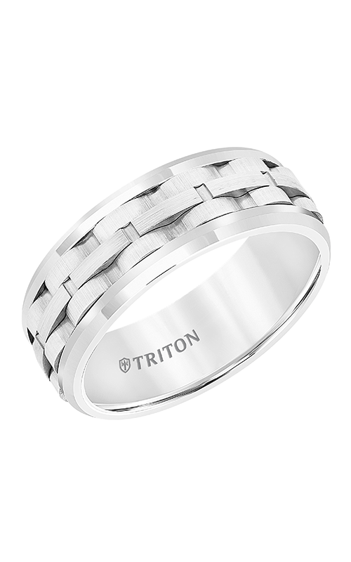 Triton Tungsten Air Wedding Band 11-5941HC8-G product image