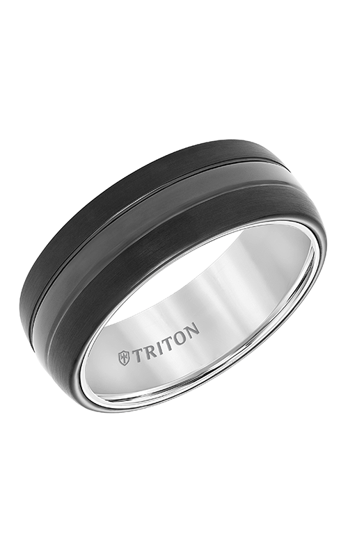 Triton Engraved Wedding Band 11-5943MCW8-G product image