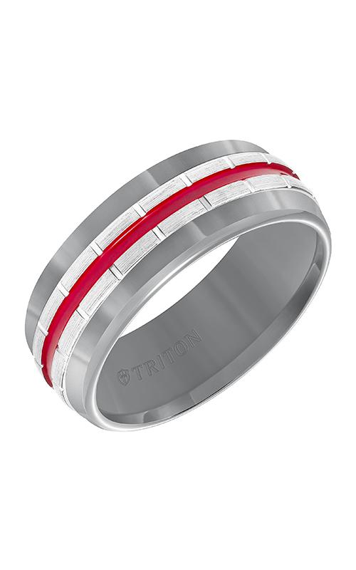 Triton Tungsten Air Wedding Band 11-5944HCR8-G product image