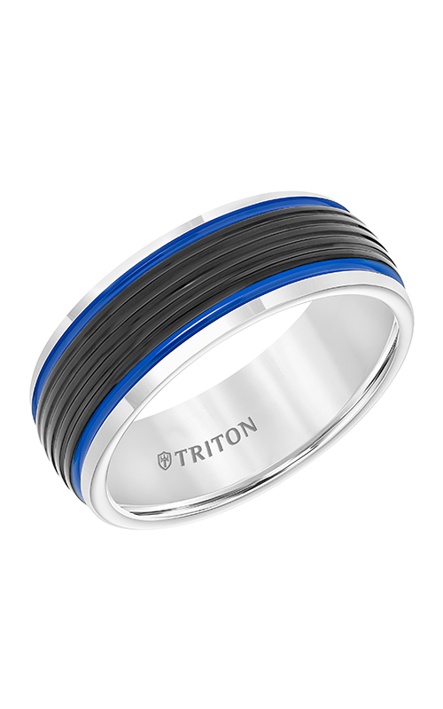 Triton Engraved Wedding Band 11-5945MCB8-G product image