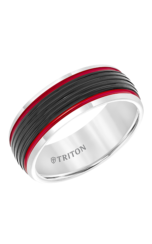 Triton Engraved Wedding Band 11-5945MCR8-G product image