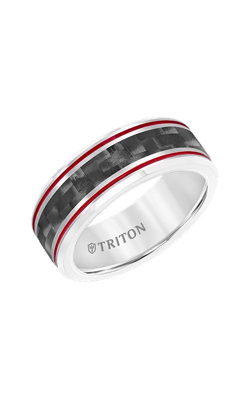 Triton Tungsten Carbide Wedding Band 11-5934CRD8-G product image
