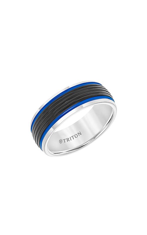 Triton Tungsten Carbide Band 11-5945MCB8-G product image