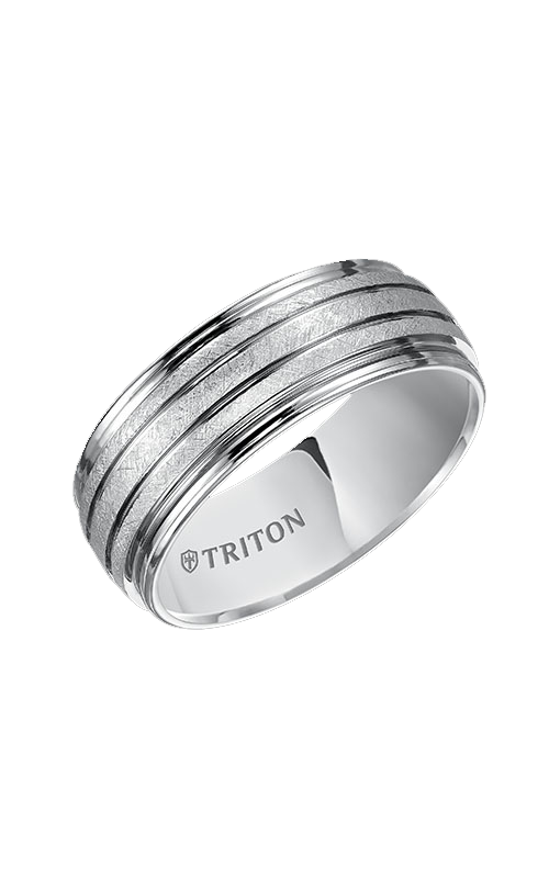 Triton Tungsten Carbide Wedding Band 11-4828HC-G product image
