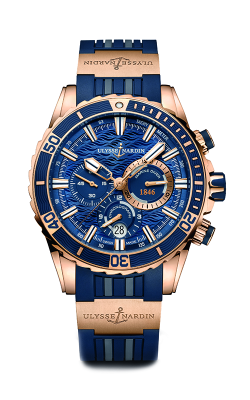Ulysse Nardin Diver Chronograph Watch 1502-151-3/93 product image