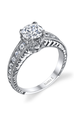 Vanna K Hand Engraved Engagement ring 18R863DCZ product image