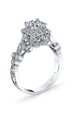 Vanna K Hand Engraved Engagement ring 18RGL00612DCZ product image