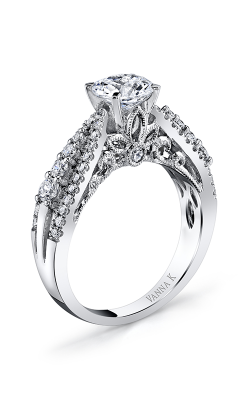 Vanna K Hand Engraved Engagement ring 18RGL599DCZ product image