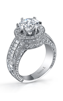 Vanna K Hand Engraved Engagement ring 18RO2586DCZ product image