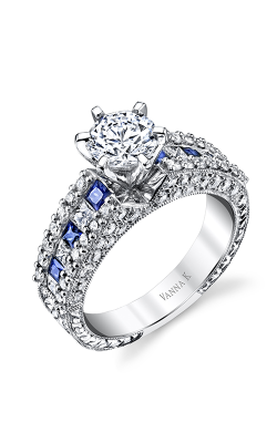 Vanna K Hand Engraved Engagement ring 18M00020BSDCZ product image
