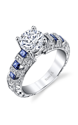 Vanna K Hand Engraved Engagement ring 18RO20610TD product image
