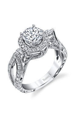 Vanna K Hand Engraved Engagement ring 18RGL00205DCZ product image