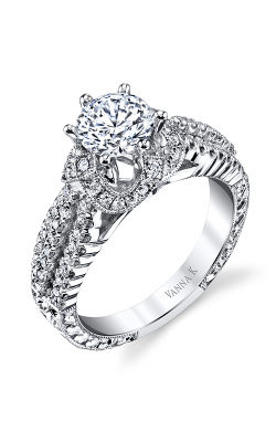 Vanna K Hand Engraved Engagement ring 18RGL00270DCZ product image