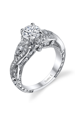 Vanna K Hand Engraved Engagement ring 18RGL00272DCZ product image