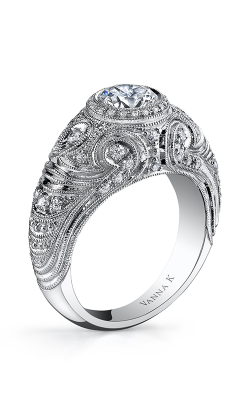 Vanna K Hand Engraved Engagement ring 18RGL756DCZ product image