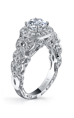 Vanna K Hand Engraved Engagement ring 18RGL00649DCZ product image