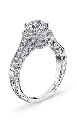 Vanna K Hand Engraved Engagement ring 18RGL00460DCZ product image