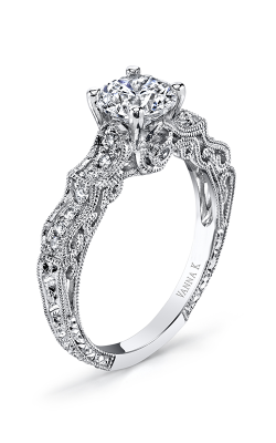 Vanna K Hand Engraved Engagement ring 18RGL00442DCZ product image