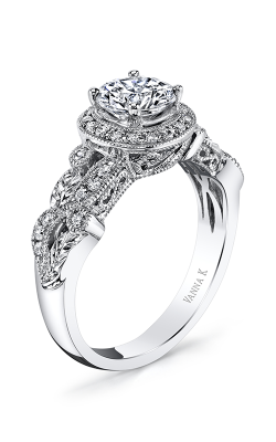 Vanna K Hand Engraved Engagement ring 18R873DCZ product image