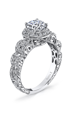 Vanna K Hand Engraved Engagement ring 18RGL740DCZ product image