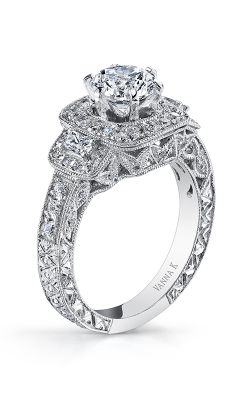 Vanna K Hand Engraved Engagement ring 18RO2335DCZ product image