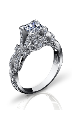 Vanna K Hand Engraved Engagement ring 18RGL00507DCZ product image