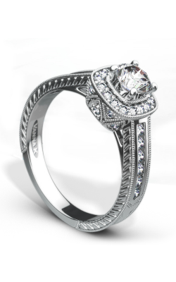 Vanna K Hand Engraved Engagement ring 18R71DCZ product image