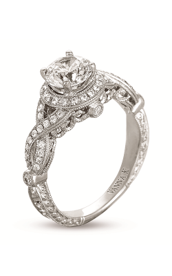 Vanna K Hand Engraved Engagement ring 18RGL00441DCZ product image