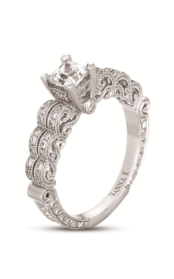 Vanna K Hand Engraved Engagement ring 18RGL463DCZ product image