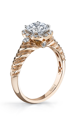 Vanna K Hand Engraved Engagement ring 18RM55099PDCZ product image