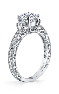 Vanna K Hand Engraved Engagement ring 18RGL0001DCZ product image