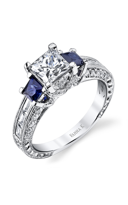 Vanna K Hand Engraved Engagement ring 18RM63145SDCZ product image