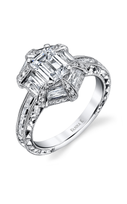 Vanna K Hand Engraved Engagement ring 18R874DCZ product image