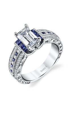 Vanna K Hand Engraved Engagement ring 18RGL001921SDCZ product image