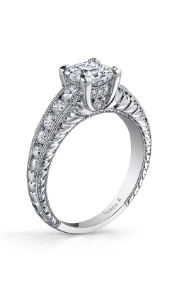 Vanna K Hand Engraved Engagement ring 18RGL0040311DCZ product image
