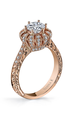 Vanna K Hand Engraved Engagement ring 18RO23931PDCZ product image
