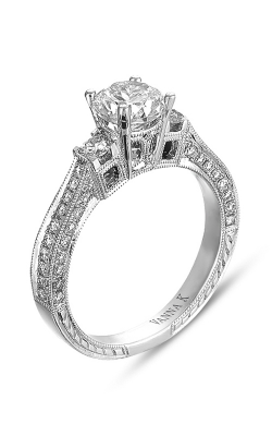 Vanna K Hand Engraved Engagement ring 18RGL00168DCZ product image