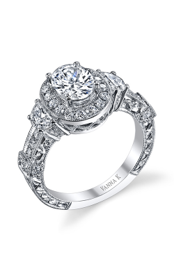 Vanna K Hand Engraved Engagement ring 18RGL002031DCZ product image